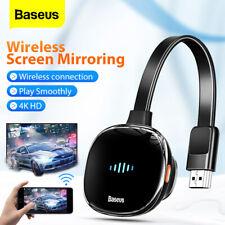Baseus 4K Wireless Display Adapter WiFi HDMI Media Video Streamer for TV Phone