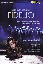 LUDWIG VAN BEETHOVEN - DVD - FIDELIO  ( OPERNHAUS ZÜRICH )