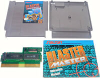 Blaster Master with Manual Book NES Nintendo Entertainment System 1988 RARE Game
