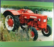 Älteres Blechschild Traktor MC Cormick Schlepper gebraucht used