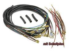 MZ/MUZ faisceau câbles TS250 Standard P.1, TS250/1 (avec schéma) Moto
