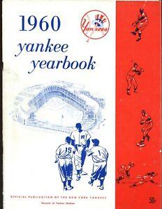 1960 New York Yankees Yearbook EX