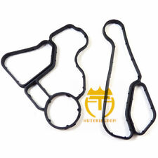 11428637820 1142863782 Engine Oil Filter Housing Gasket&Cooler Seal Set For BMW