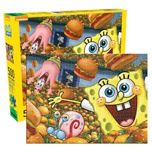 Aquarius SpongeBob SquarePants 500 Piece Jigsaw Puzzle NEW