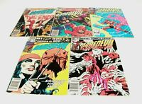 5 Issue Lot Of DAREDEVIL Comics #175-#180 Marvel 1981-82