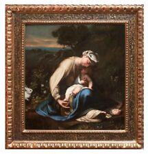 Amazing 17th Century  Original Oil Painting