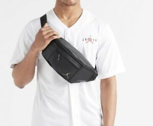 Nike Jordan Jumpman Black Legacy Crossbody Messenger Shoulder Bag Backpack NEW