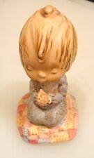 Vintage Goebel Hallmark Betsey Clark Figurine—Child At Pray—Praying dated 1972