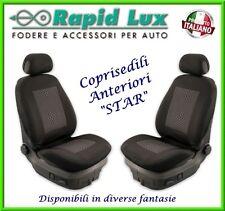 """Coppia fodere coprisedili anteriori Star per Peugeot 308 fantasia """"S63"""""""