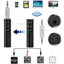 Bluetooth HD Audio Receiver Wireless Music 3.5mm AUX 4 Speakers Car Stereo Hi-Fi