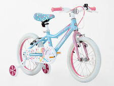 Girls 16 inch Alloy Bike with support wheel, hi spec,3-6 Years