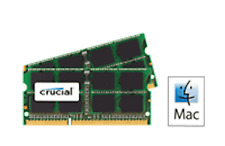 Crucial Ram 4GB kit 2 x 2 DDR2 PC2-5300 667MHz 200 PIN SODIMM per Apple di iMac