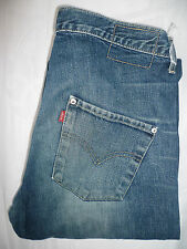 LEVI'S TYPE 3 TWISTED ENGINEERED JEANS W30 L30 VINTAGE WASH MID BLUE LEVF377 #