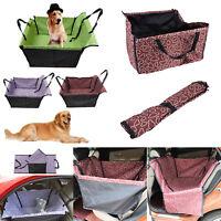 Foldable Pet Dog Car Hammock Back Seat Protect Cover Pad Cushion Mat Waterproof