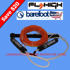 Fly High Barefoot International 75' Spectra Core Ski Wakeboard Rope Handle Combo