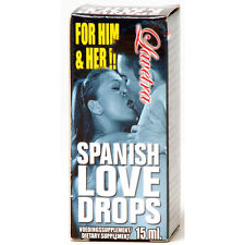 SPANISH FLY LOVE DROPS Unisex ORGASM LIBIDO DESIRE Aphrodisiac15ml Sex Aid