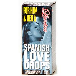 SPANISH FLY LOVE DROPS Aphrodisiac Men Women Unisex ORGASM LIBIDO Cobeco Sex UK
