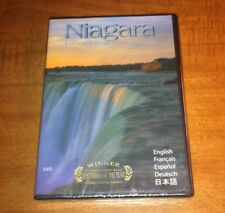 Brand NEW Niagara: Thunder of the Waters (Documentary, DVD) Christopher Bessette