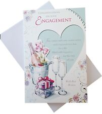 453 Single engagement Card - Congratulations on your engagement  (Size K)