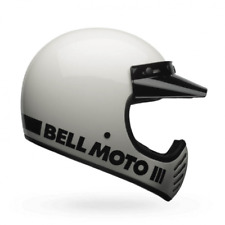 Casque moto-3 classic blanc taille s Bell 7081046