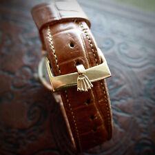 Rolex Tono Oro Hebilla Correa De Reloj De Acero S para la correa de 18 mm 16 mm medida interior