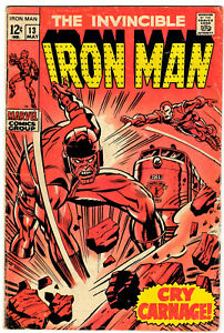 IRON MAN #13 - MAY 1969 - EARLY 12¢ MARVEL CLASSIC - LOW STARTING PRICE