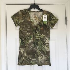 New Size Large Women's Realtree Girl Cabela's Camo Hunting Shirt