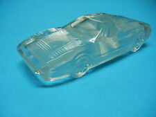 FERRARI 288 GTO AUTO PAPERWEIGHT GLASS LEAD CRYSTAL CAR ....( FREE SHIPPING )