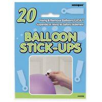 Balloon Stick-Ups Easy Balloon Hanging Stickers 20PK