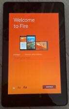 "Amazon Kindle Fire HD 6 4th Gen 6"" Tablet 1.2ghz 16gb Black PW98VM"