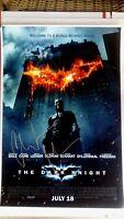 CHRISTIAN BALE SIGNED BATMAN THE DARK KNIGHT MOVIE POSTER 12x18 AUTO PHOTO PROOF