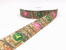 5 Yard 1'' 25MM 3D Printed Grosgrain pattern Ribbon Hair Bow Sewing Crafts