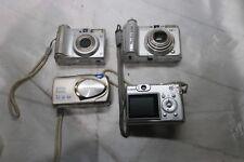 Lot of 4 - Digital Camera: Canon A630, Canon A530, Olympus Stylus, Canon A530