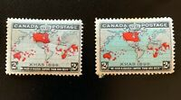 Canada Stamps. SC 85 & 86. 1898. MH. **COMBINED SHIPPING**