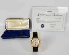 Vintage '65 Gents Solid 9ct Gold Longines Sub-seconds Calibre 30L Stunning watch