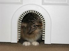 Cathole Chwm Pet Door For Cats With Removeable Brush