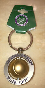 The Championships Wimbledon Official Tennis Keychain Vintage In Package As Is