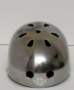 Free Agent Street Helmet Silver Model /Black One Size