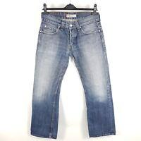 Levi's Jeans 512 0569 Herren W31 L32 Blau Bootcut Used Distressed Denim
