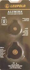 Leupold Scope Alumina Flip Back Lens Cover Kit, 40mm & Standard Eye Piece 62990