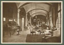 ZELATA, Pavia. Atrio palazzo Bollea. Cartolina d'epoca viaggiata nel 1940.