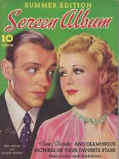 Fred Astaire and Ginger Rogers - Screen Album - Summer 1937
