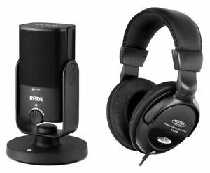 Rode NT-USB Mini USB-Studio-Kondensatormikrofon Set Niere USB-Kabel Kopfhörer