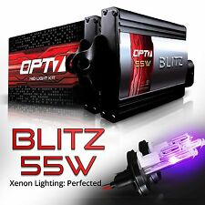 OPT7 55w HID Kit H13 9008 Hi-Lo Royal Purple Xenon Headlight Light Bulbs