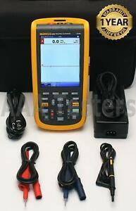 Fluke 123B Industrielle Scopemeter Dual-Input 20MHz Handgehalten Oszilloskop