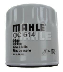 Engine Oil Filter-VIN: B Mahle OC 614