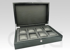 XXL High Quality Wood Watch Box for 8 watches . For PANERAI, ROLEX , HUBLOT..
