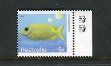 2010 Fishes of The Reef  MUH 5c Rabbitfish - 2 Koala Reprint (Right)