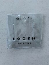 PVC plastic transparent clear swimwear / cosmetic packaging bag with snap button
