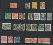 WORLDWIDE stamp lot, this one is all CANADA most on album pages, Cat Value $280+